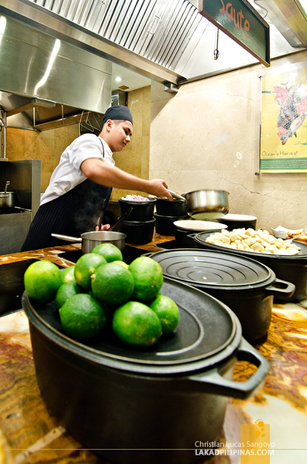 Marriott Café Manila Open Kitchen