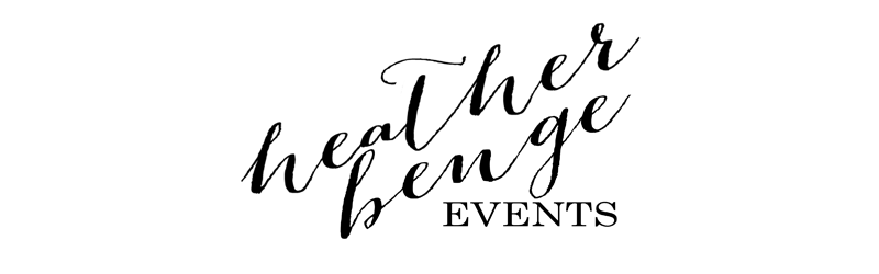 Heather Benge Events