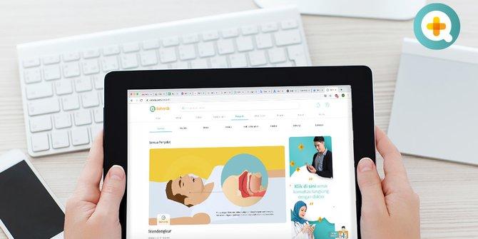 Akses Informasi Kesehatan Dari Rumah Aja Lewat SehatQ.com