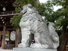 寒川神社狛犬