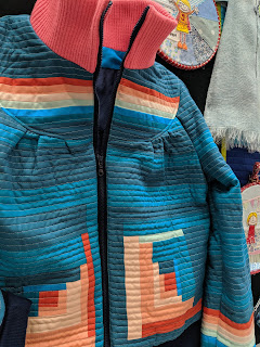 Lucy Engels quilted jacket festival of quilts 2019