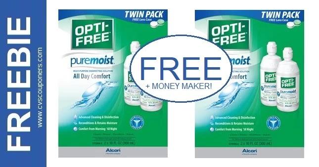 FREE Opti-Free Twin Pack CVS Deals