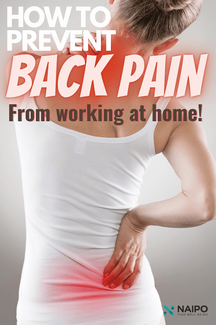 Tips To Preventing Back Pain From Working From Home, By Barbies Beauty Bits