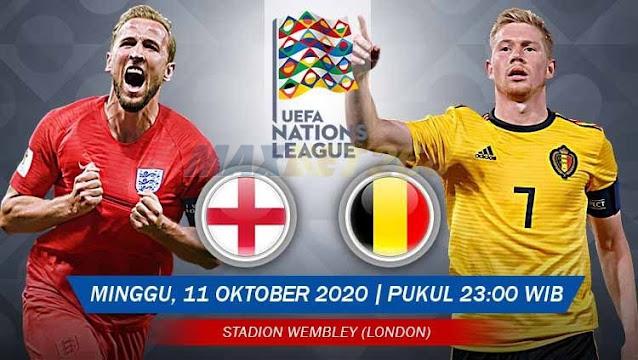 Prediksi Inggris Vs Belgia, Minggu 11 Oktober 2020 Pukul 23.00 WIB @ Mola TV