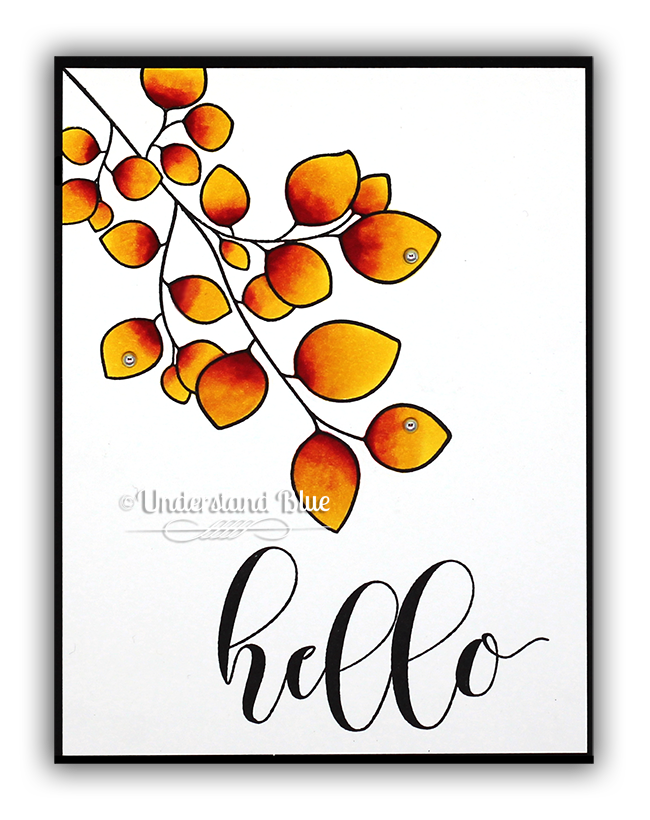 Watercolor Effects with alcohol markers by Understand Blue