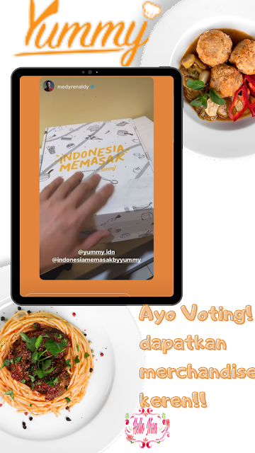 voting Indoneisa memasak yummy app