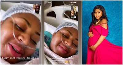 Actress Regina Daniels And Husband, Ned Nwoko Welcomes A Baby Boy