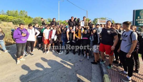 Αποχή και καταλήψεις σε σχολεία της Φθιώτιδας (ΒΙΝΤΕΟ)