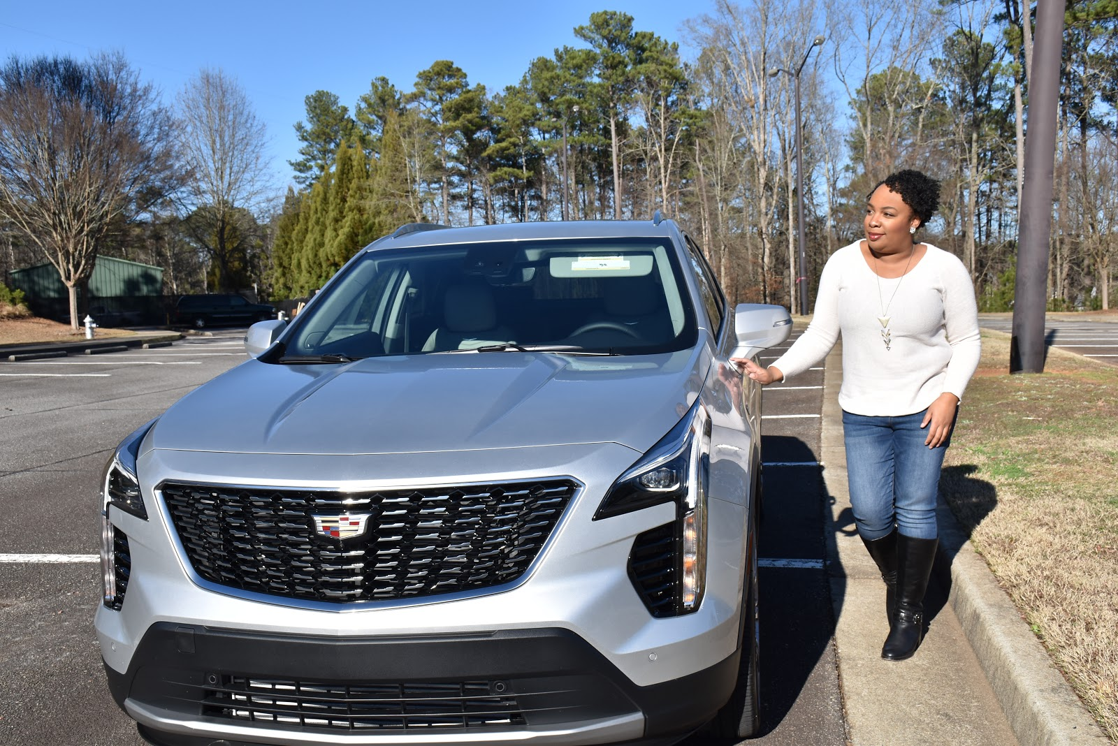2020 Cadillac XT4 Front Grille