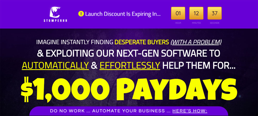 Stomperrr exploiting the NEXT-GEN software to automatically & effortlessly help for... $1,000 Paydays