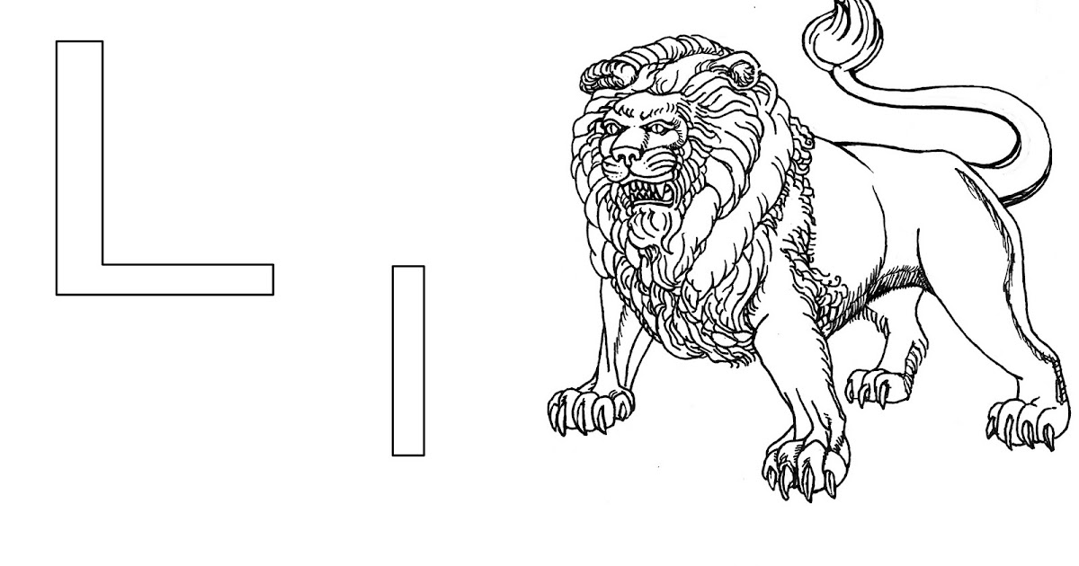 Joshua D Hoaglund Studio Sketchbook: L is for Lion and B
