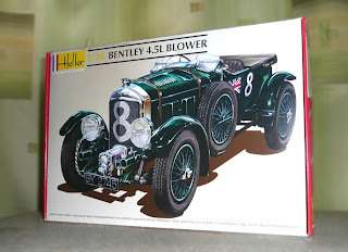 Bentley Blower, James Bond 007 car