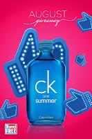 Castiga un parfum editie limitata CK ONE SUMMER
