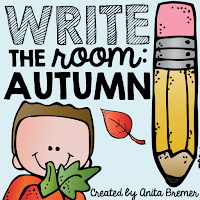 Fall write the room activity- great for active learning and vocabulary building!