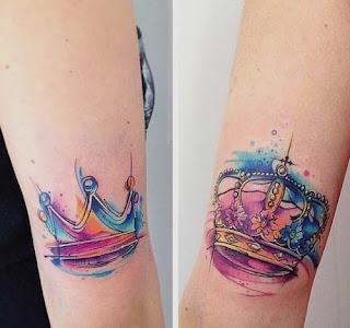 korony, kolory, tatuaże