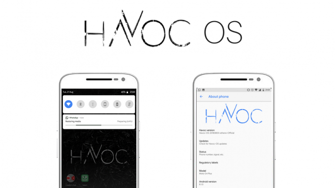 Havoc OS GSI (project Treble)