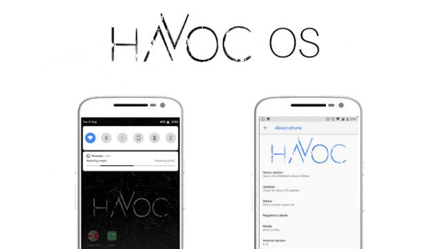 Install Custom ROM Havoc OS Redmi Note 5 Pro (Android 8.1)