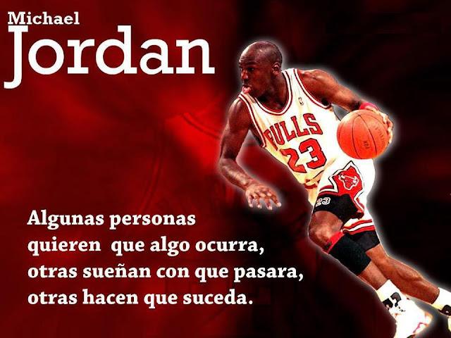 frases de Michael Jordan para alcanzar el éxito