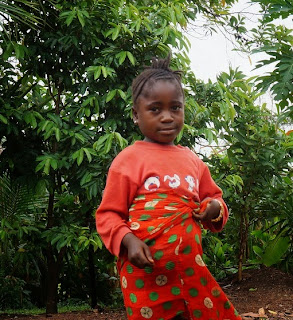Sierra Leone hopes by 2035 their vision will be fulfilled when this child turns 25