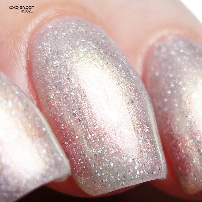 xoxoJen's swatch of LynB Designs Rainbow Quartz