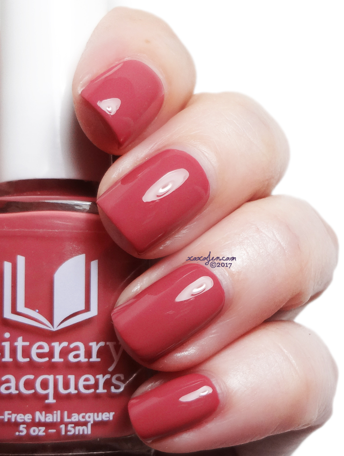 xoxoJen's swatch of Literary Lacquers A Rose for Emily