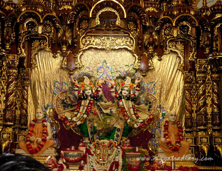 ISKCON Temple deity, Vrindavan, Uttar Pradesh