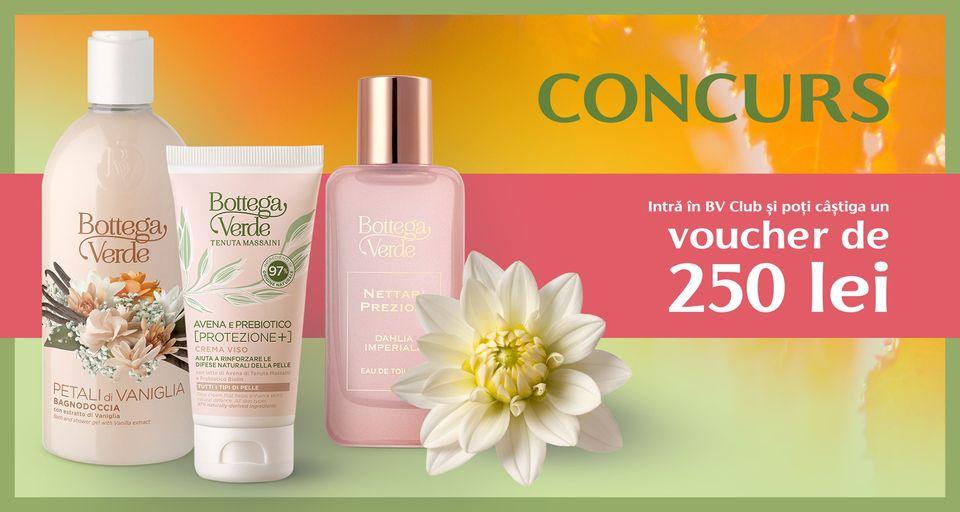 Concurs - Castiga cumparaturi pe Botegga Verde - concursuri - online - cosmetice
