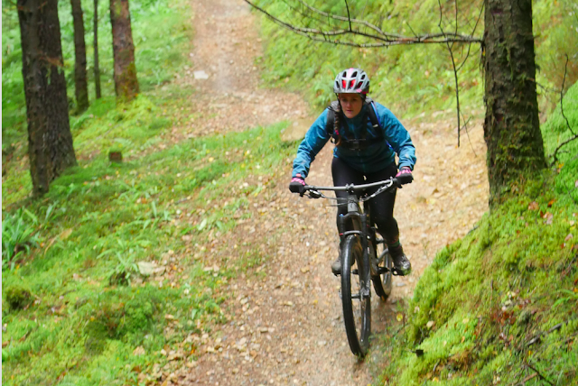 FitBits | Coed y Brenin mountain biking - 2017 year review - Tess Agnew fitness blogger