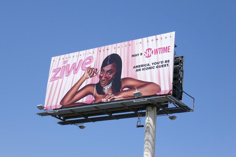 Ziwe season 1 billboard