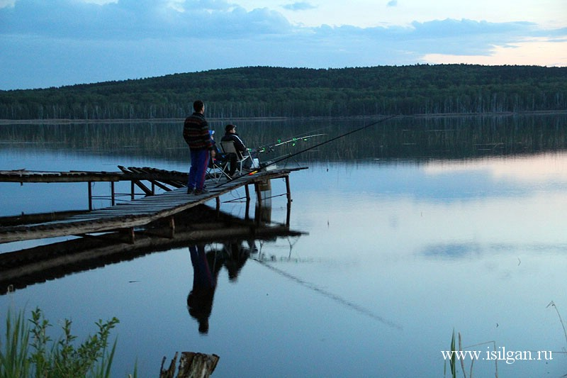Рыбалка на челябинских озёрах