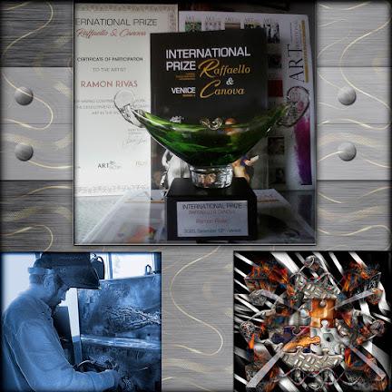 Ramón Rivas ha sido galardonado en Venecia con el Premio Internacional Raffaello & Canova