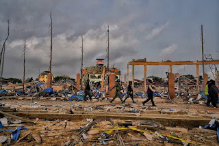 Lagos explosion: Death toll hits 23
