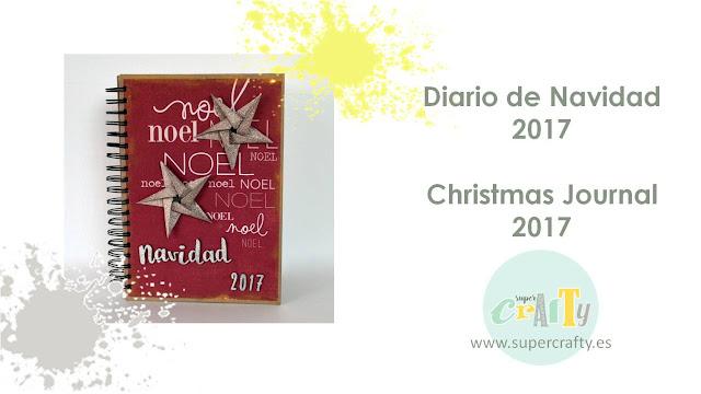 tutorial diario de navidad 2017