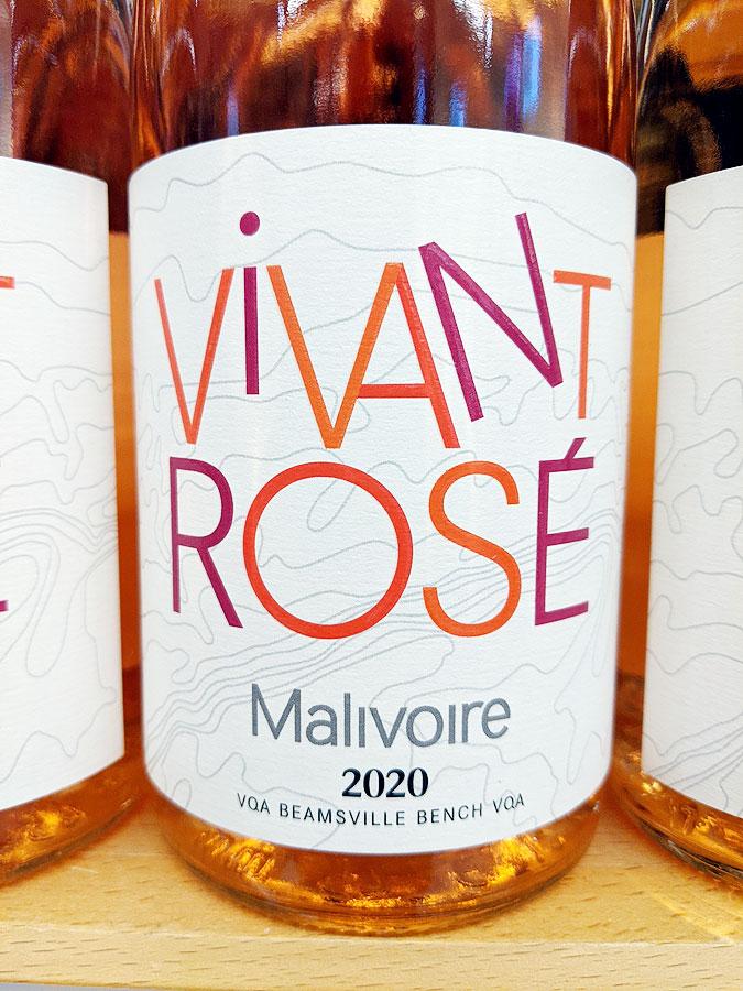 Malivoire Vivant Rosé 2020