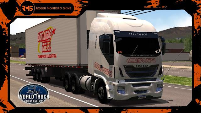 Skins Iveco - Iveco Hi-Way Comando Diesel