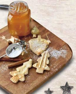 reteta usoara prajiturele cu miere si scortioara pentru craciun
