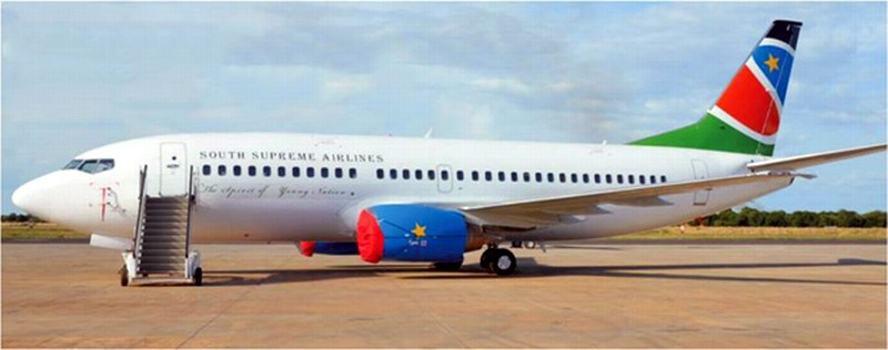 طيران جنوب السودان South Supreme Airlines