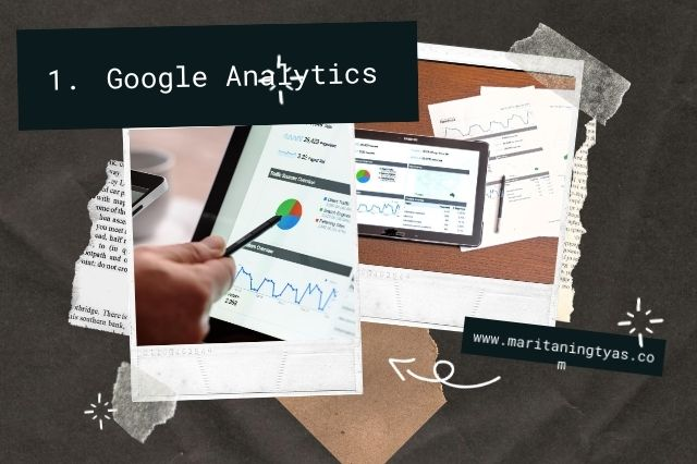 google analytics mengetahui views blog kita