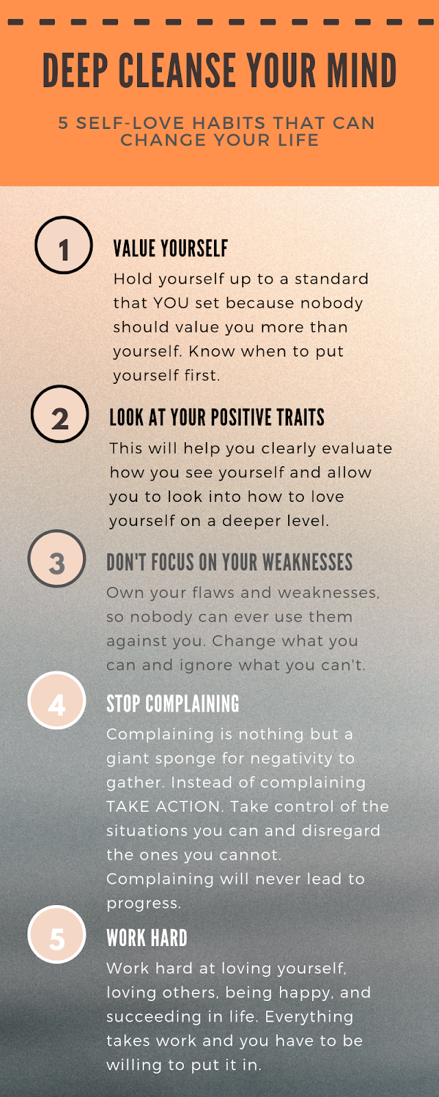 5 Self-love Habits That Can Change Your Life.