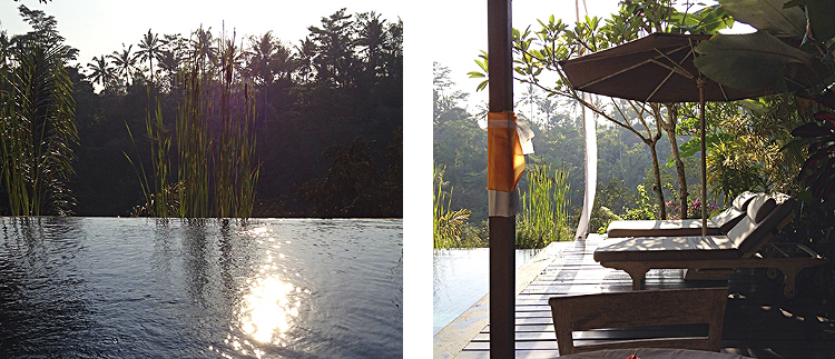 Euriental | travel and fashion | Villa Shamballa pool, Ubud, Bali