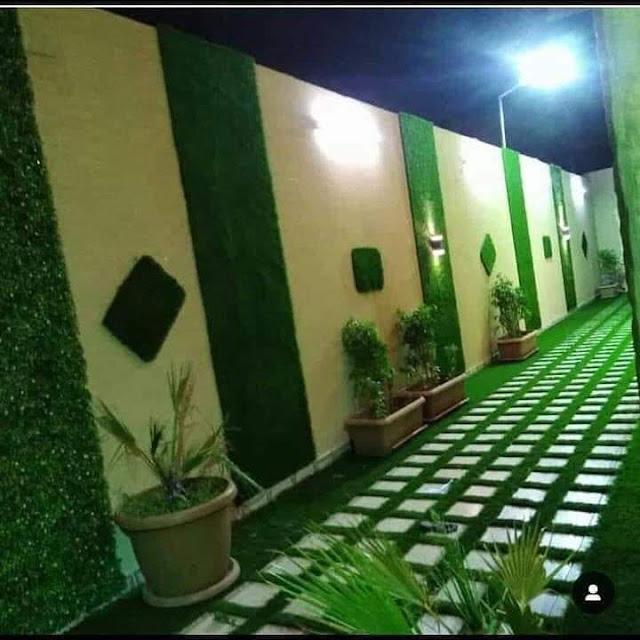 تنسيق حديقة سطح تصميم جلسات أسطح المنازل بالخرج