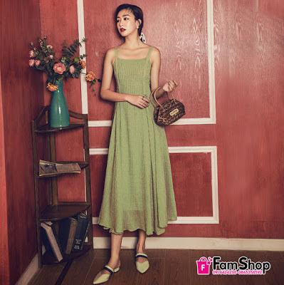 Shop váy maxi đi biển ở Long Biên