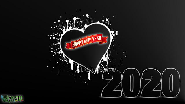 Happy New year 2020 Love Background Desktop Wallpapers