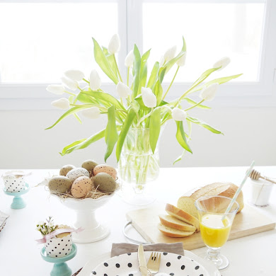 Our Easter Brunch Tablescape