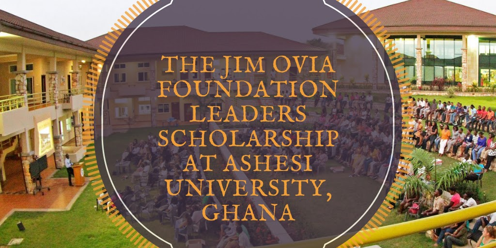 Apply for The Jim Ovia Foundation Leaders Scholarship