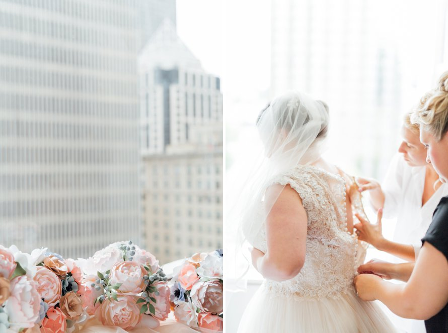 Romantic Blush SODO Wedding at Westland Distillery by Something Minted Photography