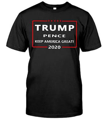 Trump Pence Keep America Great 2020 T Shirts Hoodie Sweatshirt