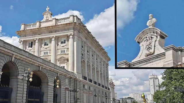 Busto de Juanelo en el Palacio Real de Madrid