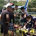 Helicóptero da SSP-AM resgata homem picado por cobra