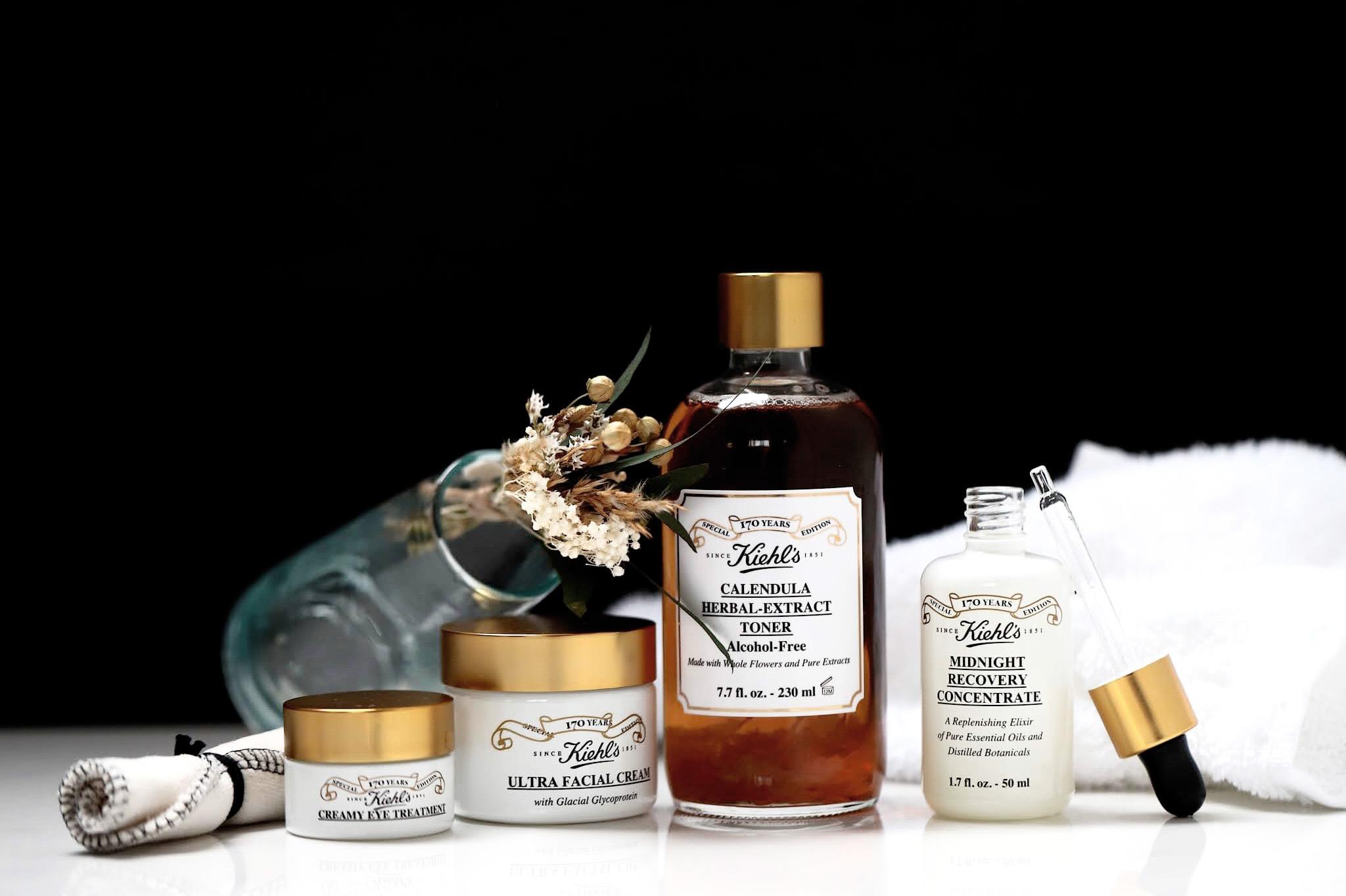 Kiehl's collection anniversaire 170 ans